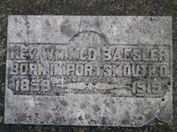 Rev William McD Baesler