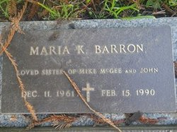Maria K Barron