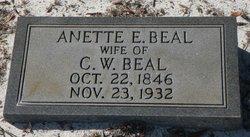 Anette E Beal