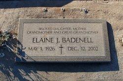 Elaine J Badenell