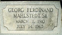Georg Ferdinand Mahlstedt, Sr