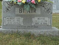 Bertie <i>Leftwich</i> Blair