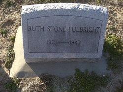 Mrs Ruth Frances <i>Stone</i> Fulbright
