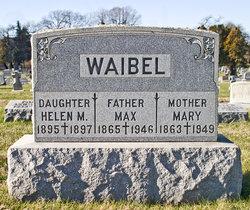 Mary <i>Eichner</i> Waibel