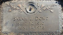 Sarah <i>Johnson</i> Dowd