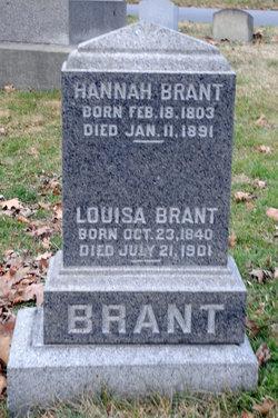 Louisa <i>Goeller</i> Brant