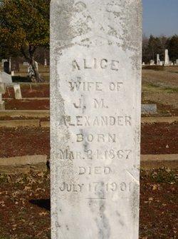 Alice <i>Howard</i> Alexander