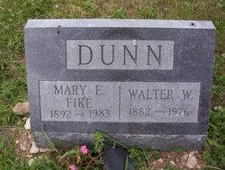 Mary E <i>Fike</i> Dunn