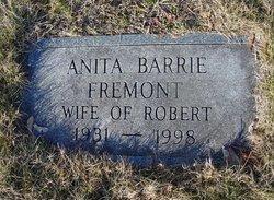 Anita <i>Barrie</i> Fremont