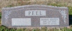 Daphne <i>Martin</i> Peel