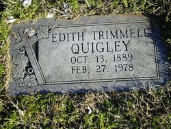Edith <i>Trimmell</i> Quigley