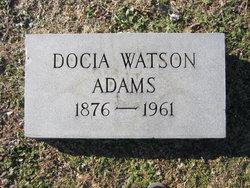 Docia <i>Watson</i> Adams