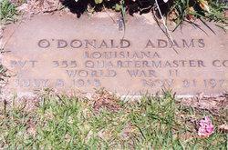 O'donald Adams