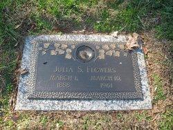Julia Elvira <i>Stroupe</i> Flowers