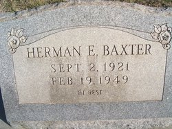 Herman E Baxter