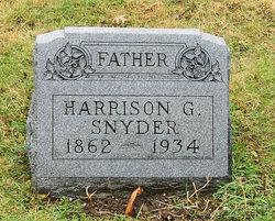 Harrison G Snyder