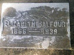 Elizabeth Eliz Balfour