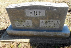 Josephine E Ade