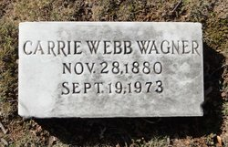 Carrie <i>Webb</i> Wagner