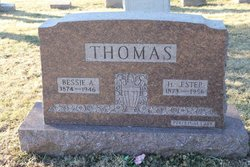 Bessie A <i>Zeisloft</i> Thomas