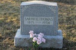 Sarah E Thomas