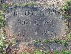 Annie Belle <i>Frye</i> Summers