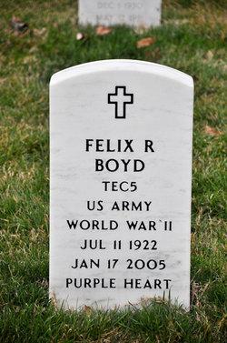 Felix R Boyd