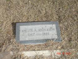 Mattie Virginia <i>Bishop</i> Anderson
