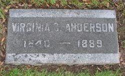 Virginia Caroline Jennie <i>Firebaugh</i> Anderson
