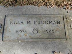 Ella M Freeman