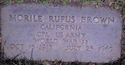 Morlie Rufus Brown