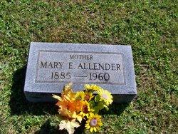 Mary Elizabeth <i>Wilmoth</i> Allender