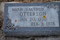 Marie <i>Gauthun</i> Otterson