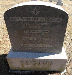 Sarah H. <i>Dow</i> Bowdoin