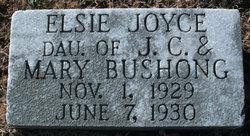 Elsie Joyce Bushong