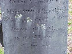 Maj Samuel Greeley