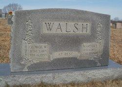 Martha E Walsh