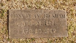 Edna Deane Bickman