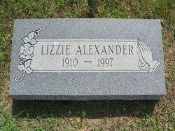 Lizzie Alexander