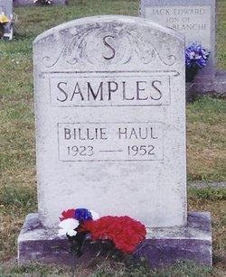 Billie Haul Samples