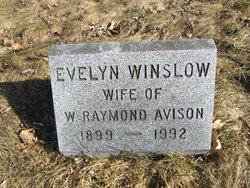 Evelyn <i>Winslow</i> Avison