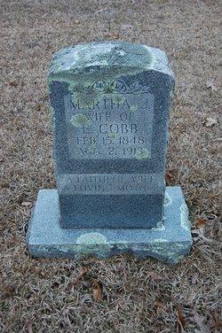 Martha Jane <i>Hoggard</i> Cobb