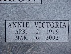 Annie Victoria Anderson