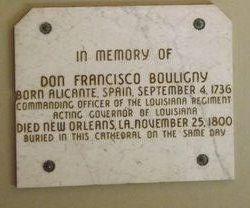 Don Francisco Bouligny