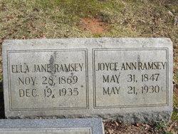 Joyce Ann Ramsey