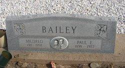 Paul E. Bailey
