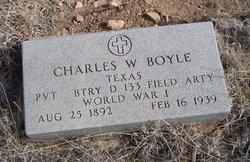 Pvt Charles W. Boyle