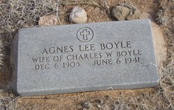 Agnes Lee <i>Jones</i> Boyle