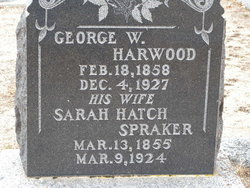Sarah <i>Hatch</i> Harwood