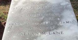 Augusta <i>James</i> McLane